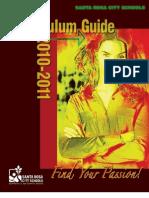 Curriculum Guide 2010