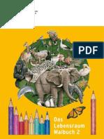 Livro para colorir Animais