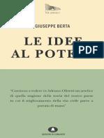 "Introduzione da ""Le idee al potere"" di Giuseppe Berta"
