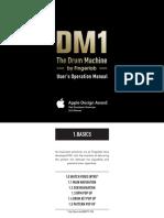Dm1 The Drum Machine User Guide