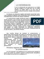 La Contaminacion archivo word