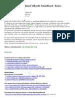 Manual Mikrotik RouterBoard (Instalar Configurar )