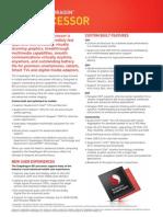 Snapdragon 801 Processor Probnduct Brief