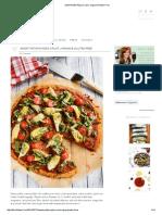 Sweet Potato Pizza Crust _ Vegan & Gluten-Free