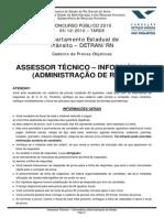 Assessor Técnico - Informática _administração de Rede