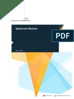 Spectrum Review Report FINAL