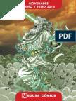 Novedades Medusa Cómics Junio-julio 2015