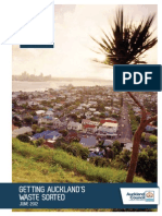 Auckland Waste Management and Minimisation Plan