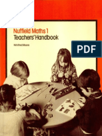 Nuffield Maths Teacher's Handbook 1
