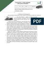 Ficha de Preparação Exame