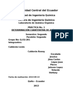 Informe 1 Quimica Orgánica