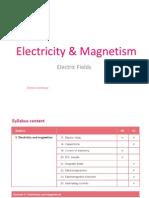 Ch 5 - EM - (a) Electric Fields