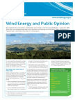 1Wind Energy and Public Opinion