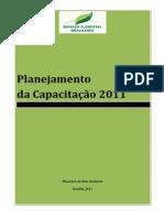 Planejamento da Capacitação para o Serviço Florestal Brasileiro