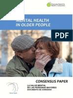 Mental Health Older People