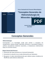 004 Conceptos Generales Hidrometalurgia