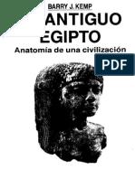 Barry Kemp - El Antiguo Egipto. Anatomía de Una Civilización