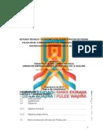 Estudio Técnico y Económico de La Explotación de Calizas en El Corregimiento Los Hornitos Municipio de Distracción Departamento de La Guajira