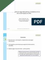 Análisis y desafíos en seguridad pública y ciudadana a la luz de la victimización en Chile 2014