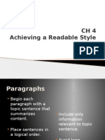 CH 4 Achieving a Readable Style.pptx