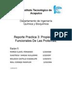 Propiedades Funciadasdonales de Las Proteina Practica 3. Eq. 5
