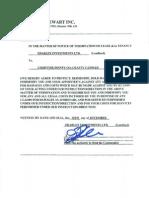 CraftyCandles.ca eviction notice