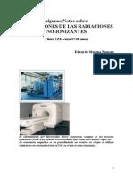 Notas Aplicaciones Radiaciones No-ionizantes