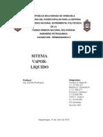 Trabajo Ciclos Termo 2 (Sistema Vapor Liquido)