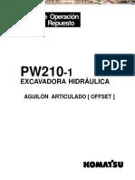 Manual Piezas Repuesto Excavadora Hidraulica Pw210 Komatsu