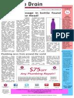 Pentagon Plumbing Newsletter - May, 2015 Edition