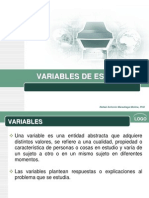 15 MC Variables de Estudio
