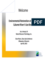 Environental Restoration at the Grand Calumet East Branch
