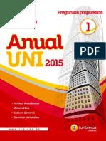 Boletín anual UNI Aritmetica
