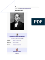 Benito Juárez Biografia