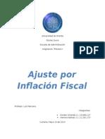 Ajuste por Inflación Fiscal