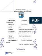 Sistema Bancario Peruano