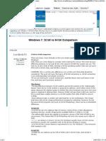 comparacion windows 32 y 56 bits