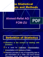 Basic Statistical Concepts and Methods