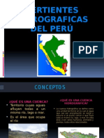 Vertienttes Hidrograficas en El Peru