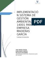 Maderas Garcia Iso 14000