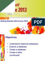 Access 2013 Unit A