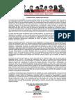 Declaración Pública - Comité Central - Mayo de 2015