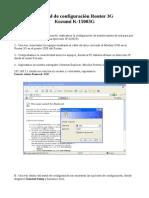 79646118 Manual de Configuracion Router 3G Kozumi K15003G