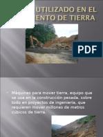 EQUIPO UTILIZADO EN MOVIMIENTO DE TIERRAS.ppt