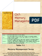 CH07 - Memory Management
