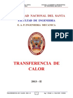Transf. Calor - 2013 - II - Sesión N° 3 - II Unidad