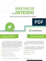 eBook Marketing de Conteudo o Que Precisa Para Comecar