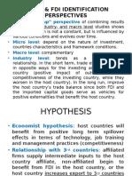 Summary FDI and Trade - Presentasi Harry Patria FE UI