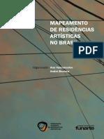 mapeamento de residências artísticas no brasil