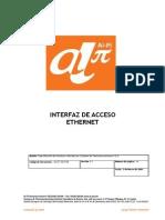 2. Interfaz de Acceso Ethernet, INTERFAZ DE ACCESO ETHERNET